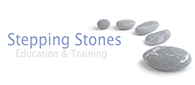 Transparent Stepping Stones logo without background